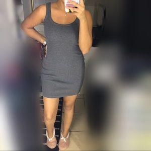 Fashion Nova - Gray Mini Dress
